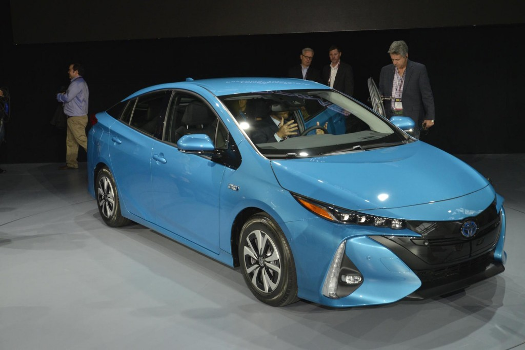 Image 2017 Toyota Prius Prime 2016 New York Auto Show
