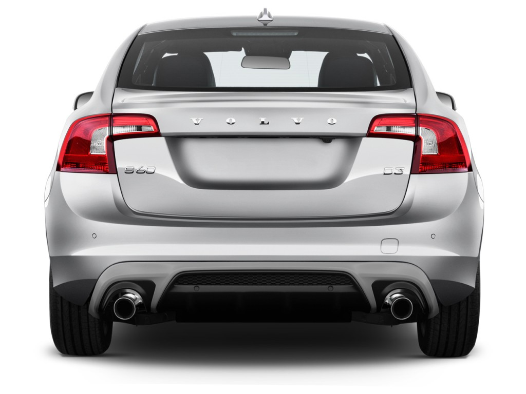 Image 2017 Volvo S60 T6 Awd R Design Platinum Rear