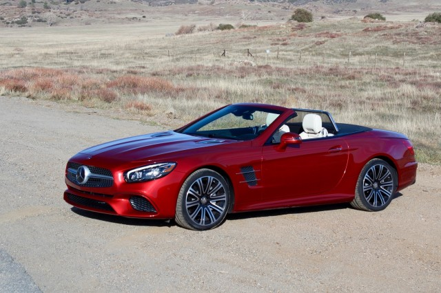 2016 Mercedes Benz Sl450