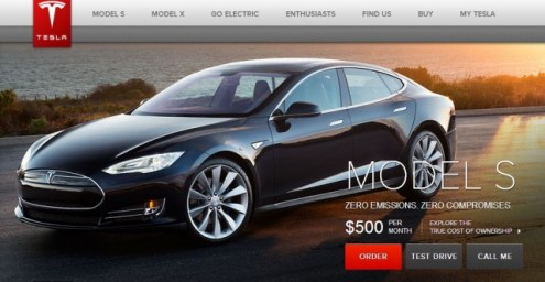 Tesla Model S For  500 Per Month  No  Just No  Tesla Motors still advertising  500 mo price despite revision of calculator  settings