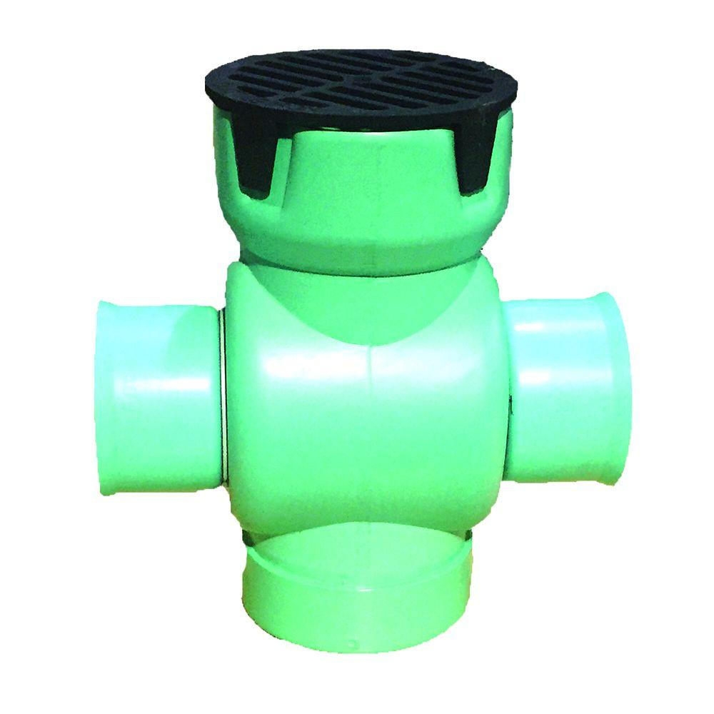 Corrugated 4 Fittings Drain Pipe