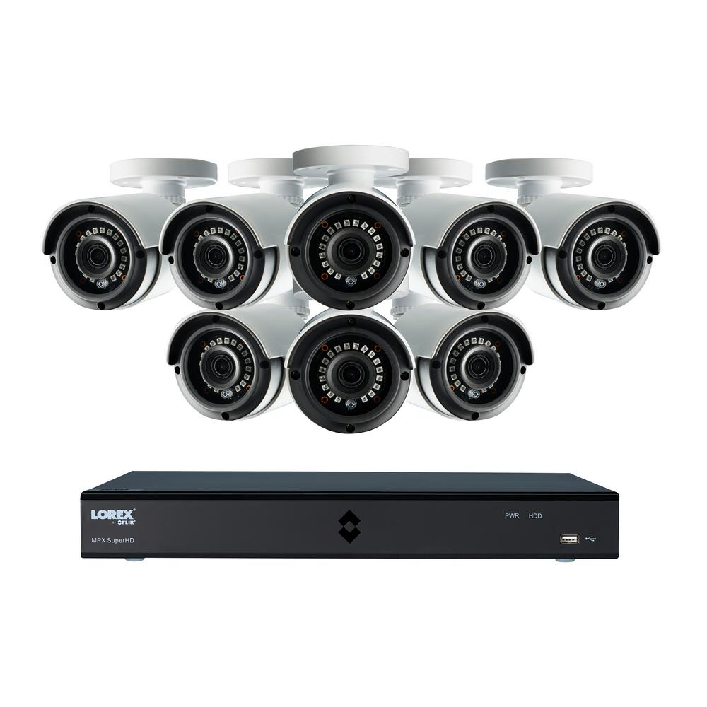 Lorex 4 Channel Wireless Security System 500gb