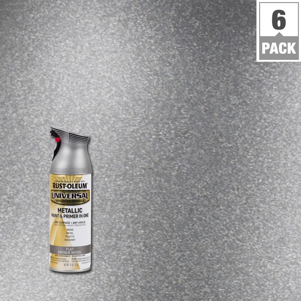 Satin Nickel Spray Paint Metal