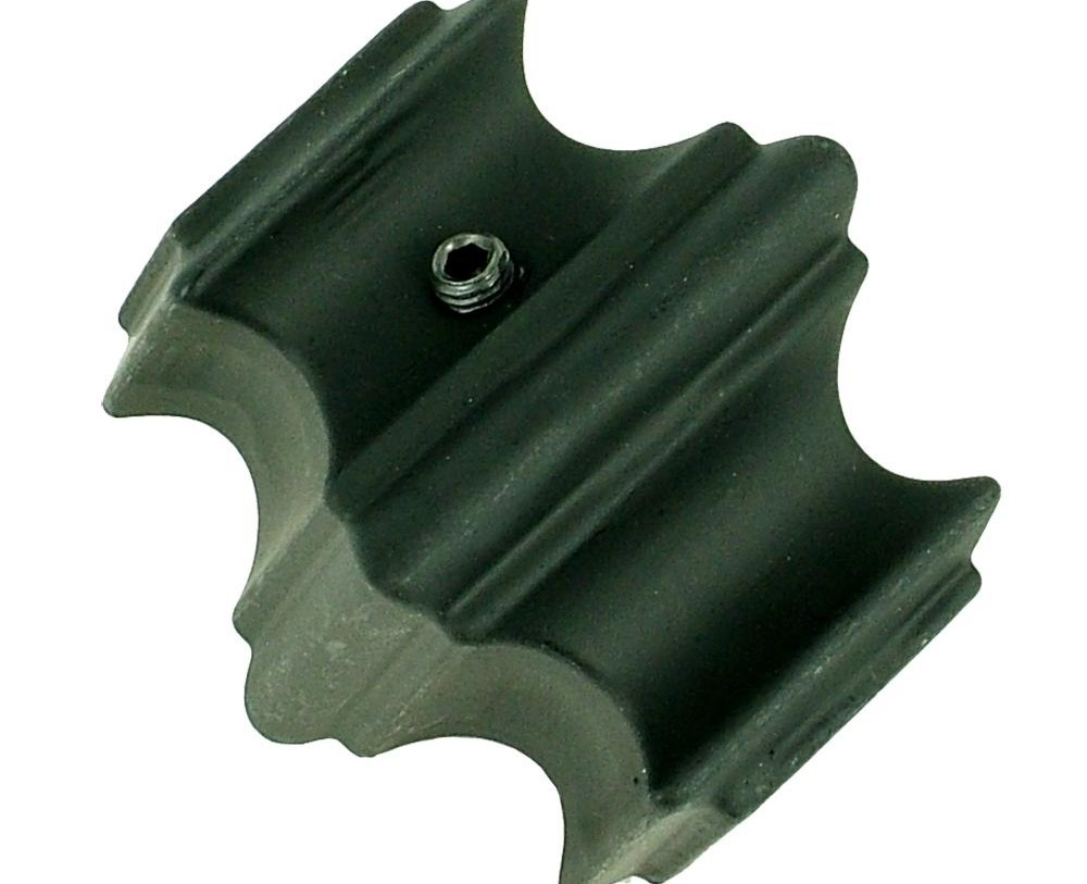 Stair Parts 1 2 In Matte Black Metal Knuckle Fitting I345B 000 | Iron Spindles Home Depot | Ole Iron Slides | Wm Coffman | Stair Parts | Oil Rubbed | Deck