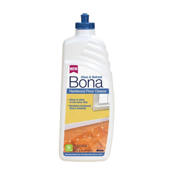 Bona   Floor Cleaning Products   Cleaning Supplies   The Home Depot 32 oz  Clean and Refresh Hardwood Floor Cleaner
