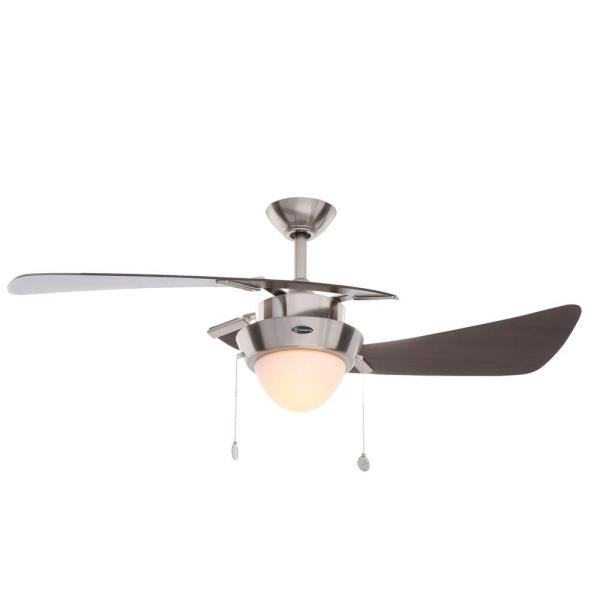 Westinghouse Harmony 48 in  Brushed Nickel Ceiling Fan 7214100   The     Westinghouse Harmony 48 in  Brushed Nickel Ceiling Fan