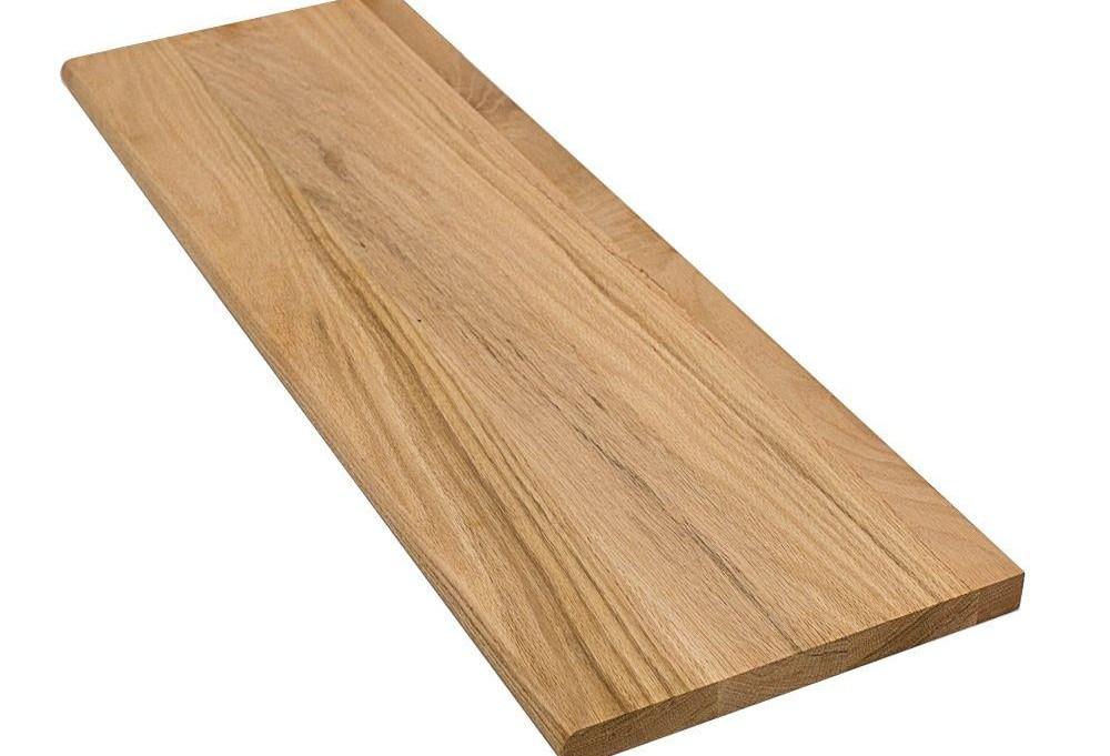 Stairtek 1 In X 11 5 In X 42 In Unfinished Solid Builder Grade | Hardwood Treads And Risers | Stair Nosing | Carpet | Hardwood Flooring | Red Oak | Stair Tread