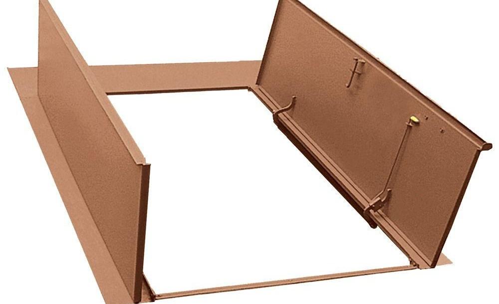 Bilco Door Strut Bilco Classic Series 55 In X 72 In Primed | Bilco Precast Basement Stairs | Egress Window | Basement Entry | Precast Concrete Steps | Bilco Doors | Wine Cellar