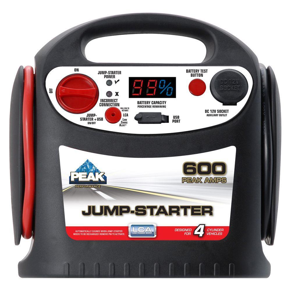 Black Amp Starter 300 Start Decker Jump It