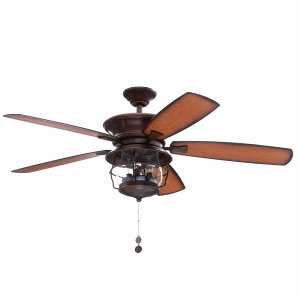 Westinghouse Brentford 52 in  Indoor Outdoor Aged Walnut Finish     Indoor Outdoor Aged Walnut Finish Ceiling Fan