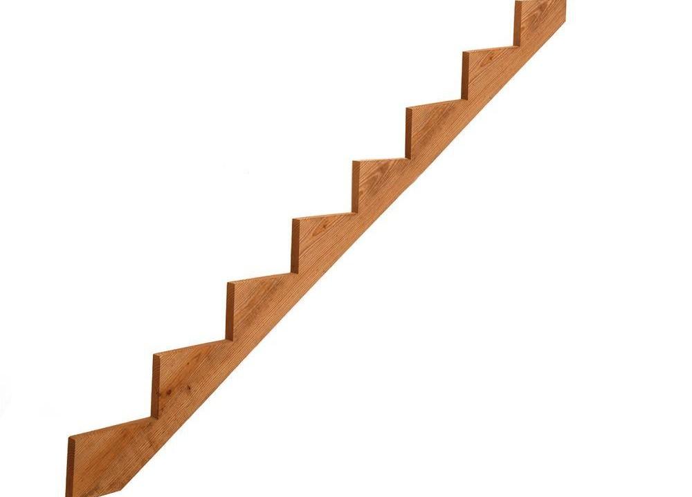 8 Step Pressure Treated Cedar Tone Pine Stair Stringer 215725 | Exterior Stair Treads Lowes | Composite Decking | Blue Limestone | Pressure Treated | Handrail | Wood Stair Stringer