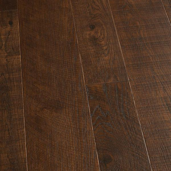 Malibu Wide Plank French Oak Salt Creek 1 2 in  Thick x 7 1 2 in     French Oak Francis 1 2 in  T x 5 in  and 7