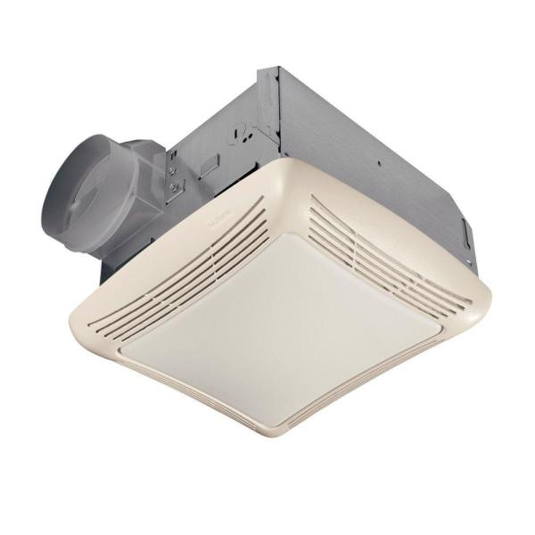 NuTone 50 CFM Ceiling Exhaust Bath Fan with Light 763N   The Home Depot NuTone 50 CFM Ceiling Exhaust Bath Fan with Light