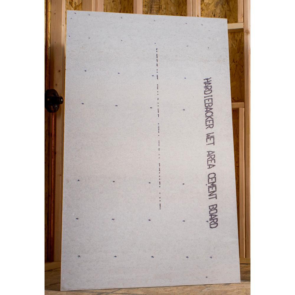 Home Depot Hardy Backer Board