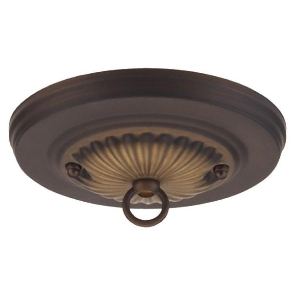 Westinghouse 5 in  Oil Rubbed Bronze Traditional Canopy Kit 7005000     Oil Rubbed Bronze Traditional Canopy Kit
