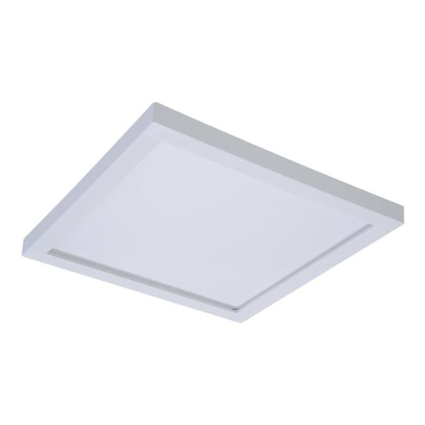 Halo SMD 5 in  and 6 in  White Integrated LED Recessed Square     White Integrated LED Recessed Square Surface Mount