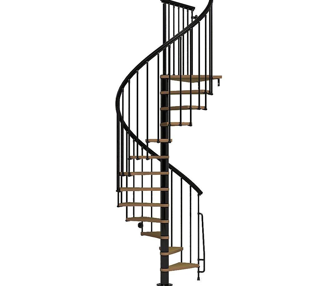Spiral Staircase Kits Stair Parts The Home Depot | Spiral Staircase Wooden Steps | 2 Floor | Traditional | Enclosed | Kid Friendly | Solid