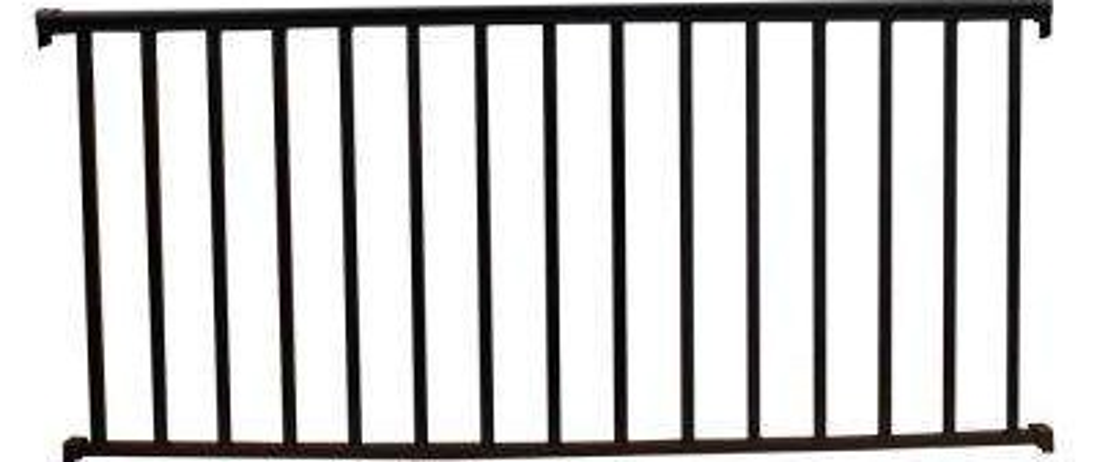 Ez Handrail The Home Depot | Handrails For Concrete Steps Home Depot | Aluminum Railing | Veranda | Tuffbilt | Precast Concrete | Baluster