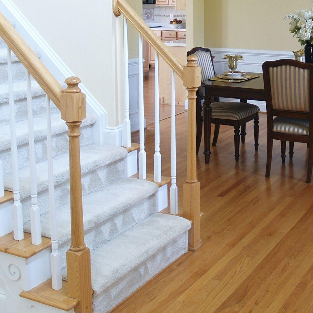 Stair Parts 5015 36 In X 1 1 4 In Primed Tapered Baluster 5015X | Home Depot Stair Banister | Wrought Iron Stair | Metal | Deck Railing | Railing Kits | Railing Systems