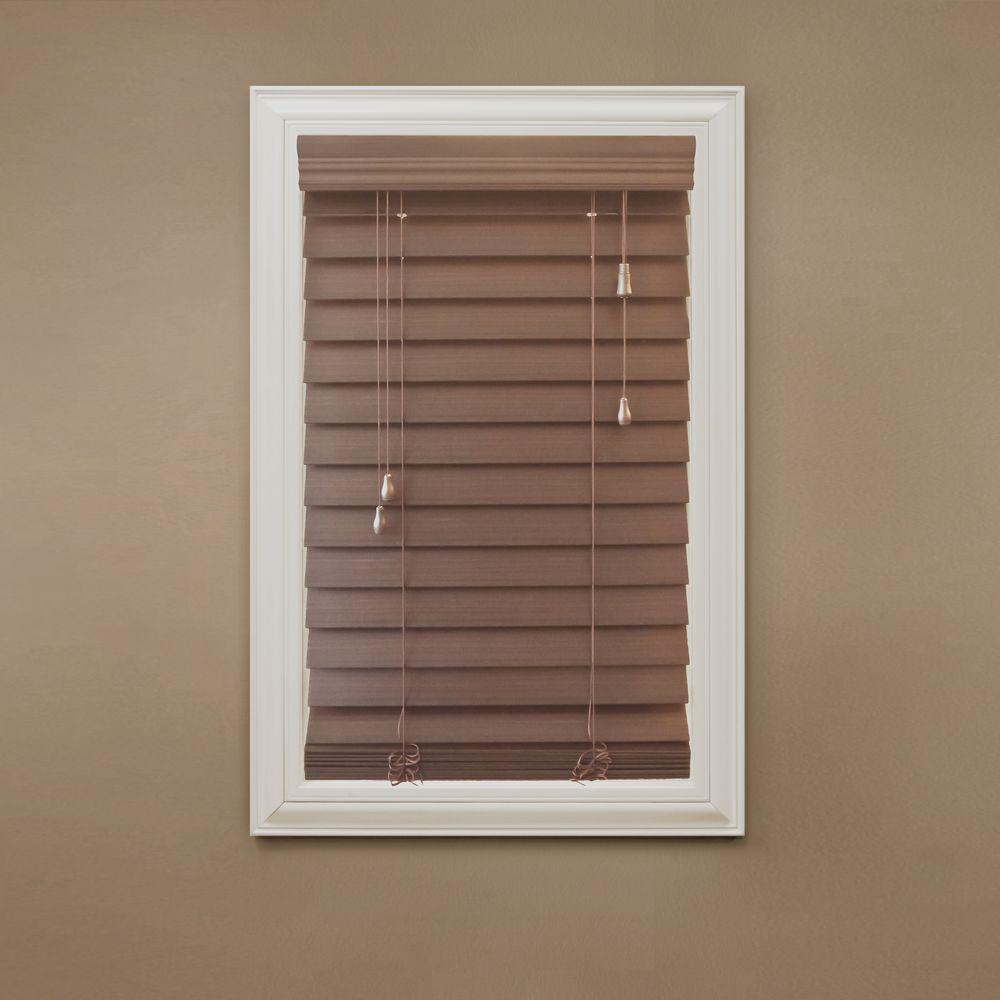 Home Decorators Collection Premium Faux Wood Blinds