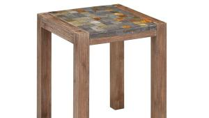 Home Styles Morocco Indoor/Outdoor Patio End Table With