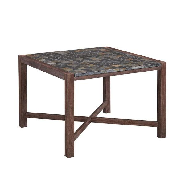 Home Styles Morocco Square Acacia Wood Patio Dining Table 5601 37     Home Styles Morocco Square Acacia Wood Patio Dining Table