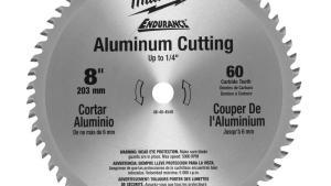 Milwaukee 8 In X 60 Carbide Teeth Aluminum Metal Cutting