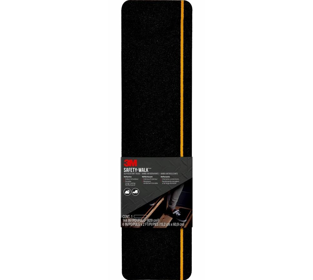 3M Safety Walk Slip Resistant Step And Reflective Tread 6 In X 2 | Non Skid Stair Treads Lowes | Aluminium Stair | Outdoor Stair | Staircase | Mat | Lowes Com