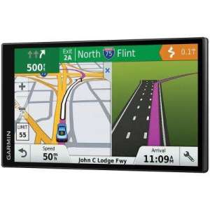 Garmin   GPS Navigation Systems   Home Electronics   The Home Depot DriveSmart 61 GPS Navigator with Lifetime Maps of North America and Live  Traffic