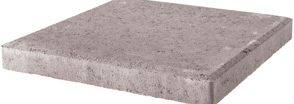 18 In X 18 In X 1 75 In Pewter Square Concrete Step   Patio Steps Home Depot