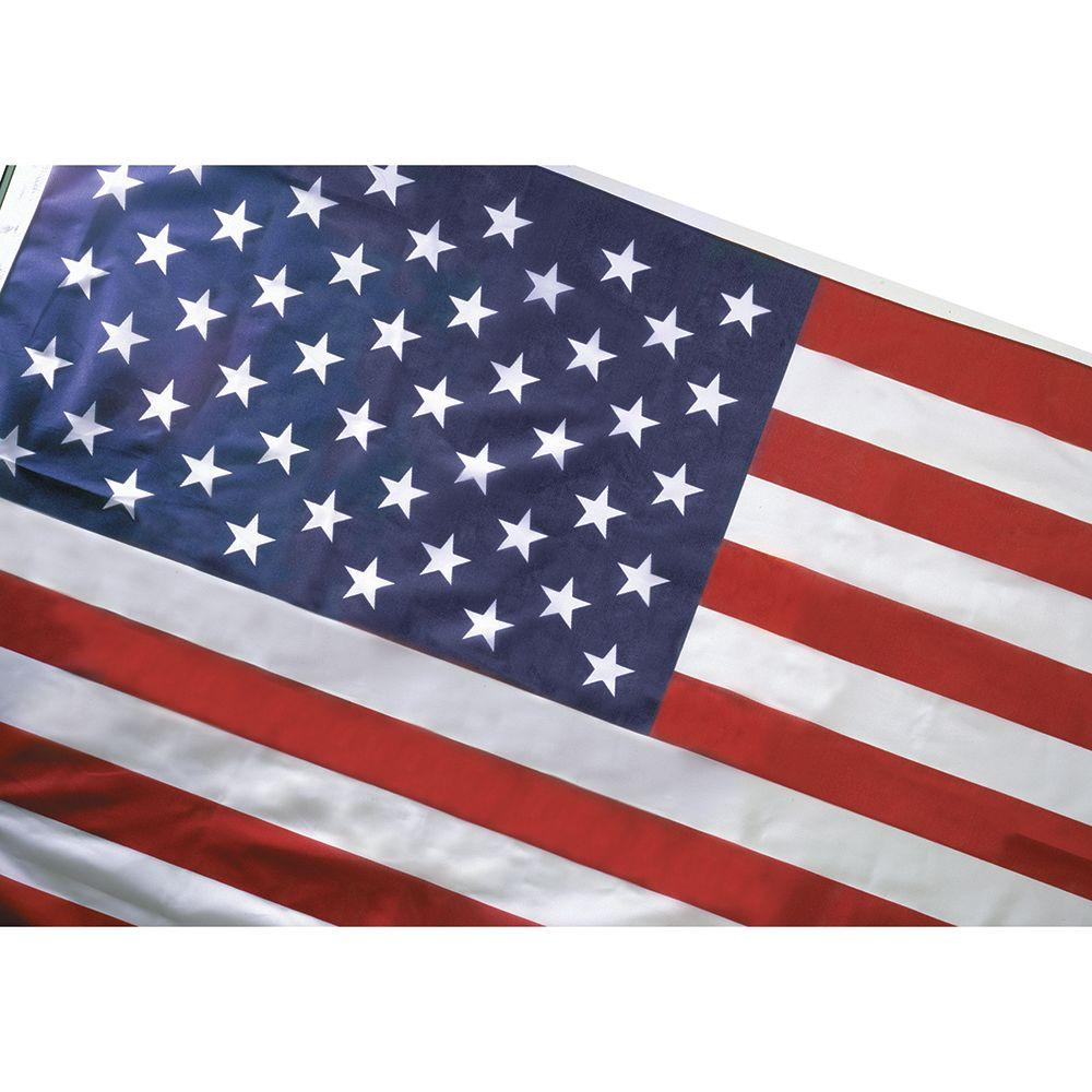 Seasonal Designs 3 Ft X 5 Ft Us Flag Rf3N The Home Depot