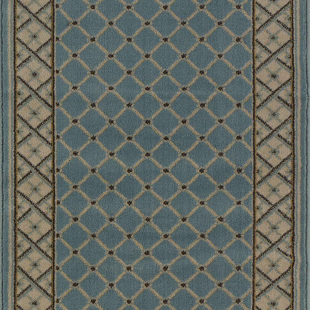 Natco Stratford Bedford Light Blue 26 In X Your Choice Length | Home Depot Stair Runners | Diy | Boards | Half Landing | Outdoor | Tread