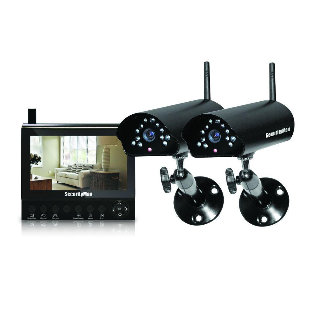 Home Security Systems Wireless