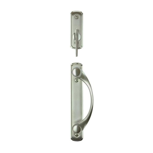 Andersen Newbury 2 Panel Gliding Patio Door Hardware Set in Satin     Andersen Newbury 2 Panel Gliding Patio Door Hardware Set in Satin Nickel