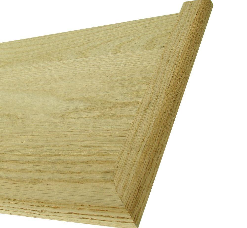 Stair Parts 48 In X 11 1 2 In Unfinished Red Oak Miter Return | White Oak Stair Treads Home Depot | Risers | Red Oak Retread | Flooring | Stair Handrail | Landing Tread