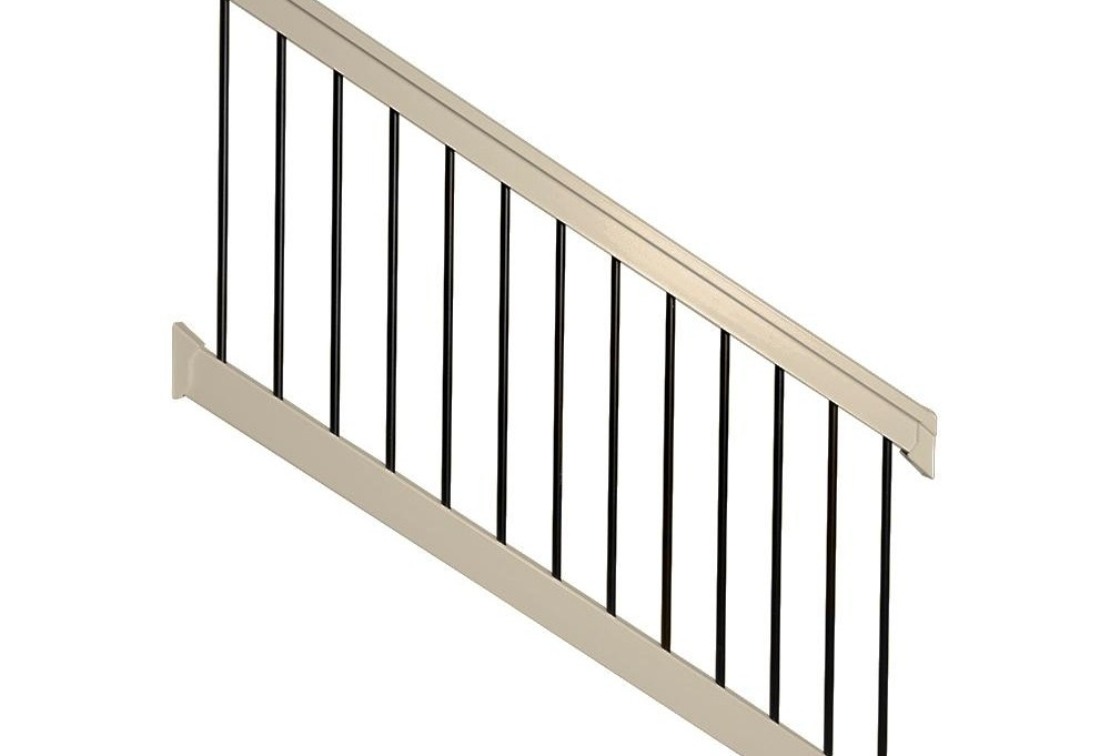 Outdoor Handrails Deck Stairs The Home Depot | Patio Steps Home Depot