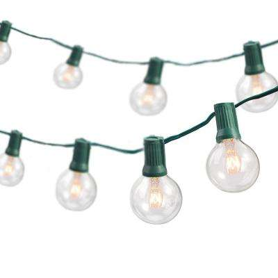 Rope and String Lights   Outdoor Specialty Lighting   Outdoor     Indoor Outdoor Weatherproof Party String Lights with 25 Sockets Light Bulbs  Included