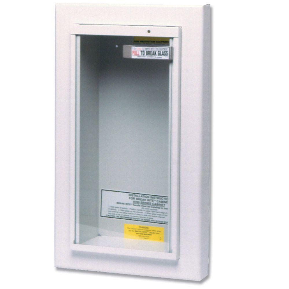 Kidde 10 Lbs Semi Recessed Fire Extinguisher Cabinet