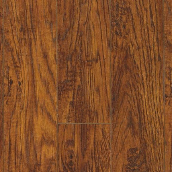 Pergo XP Highland Hickory 10 mm Thick x 4 7 8 in  Wide x 47 7 8 in     Pergo XP Highland Hickory 10 mm Thick x 4 7 8 in  Wide