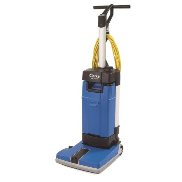 Clarke MA10 12E Upright Floor Scrubber with Off Aisle and Carpet Kit     Clarke MA10 12E Upright Floor Scrubber with Off Aisle and Carpet Kit