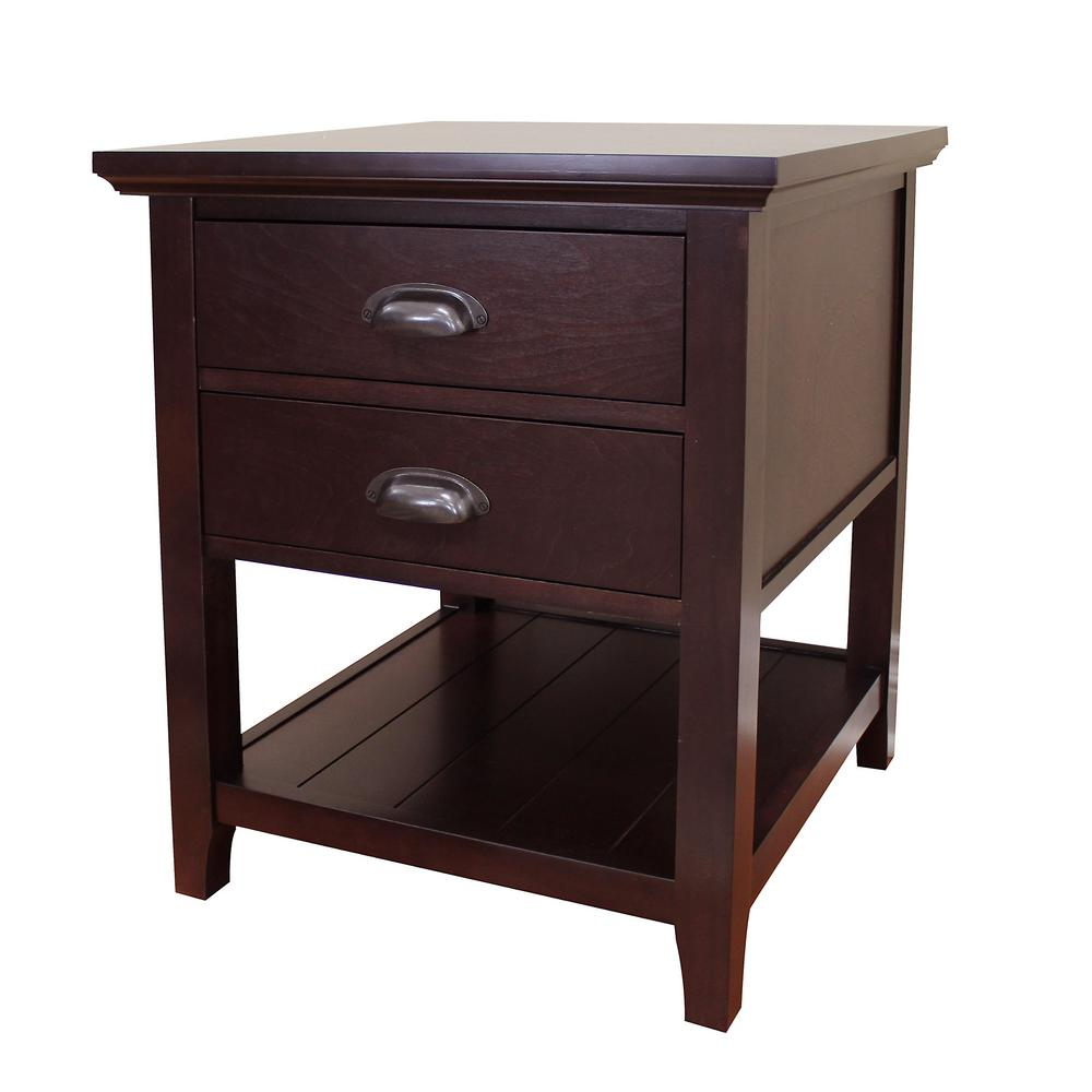 Tables 4 End Drawers