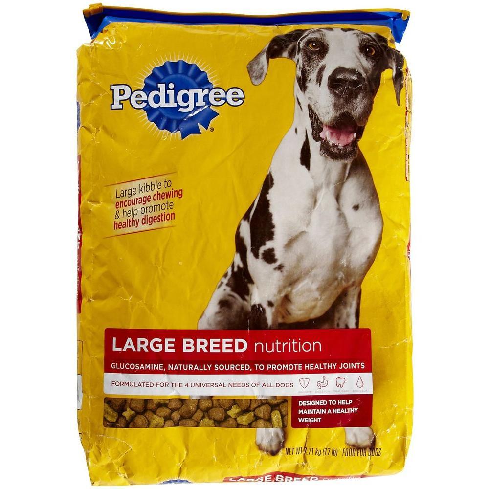 Pedigree Large Breed Adult Dry Dog Food 36 4 Lb Bag
