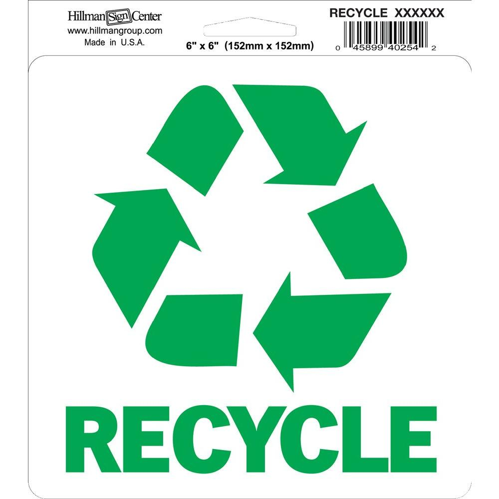 Recycle Logo Stickers Product