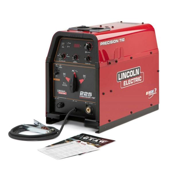 Lincoln Electric   Welding Machines   Welding   The Home Depot 230 Amp Precision TIG 225 TIG Welder  Single Phase  460V 575V  Machine