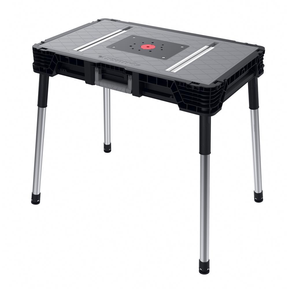 Husky 1 8 Ft X 3 Ft Portable Jobsite Workbench 225047