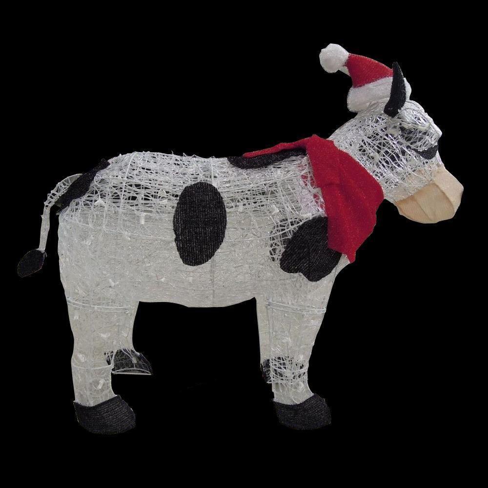 Lit Plastic Christmas Lawn Decorations