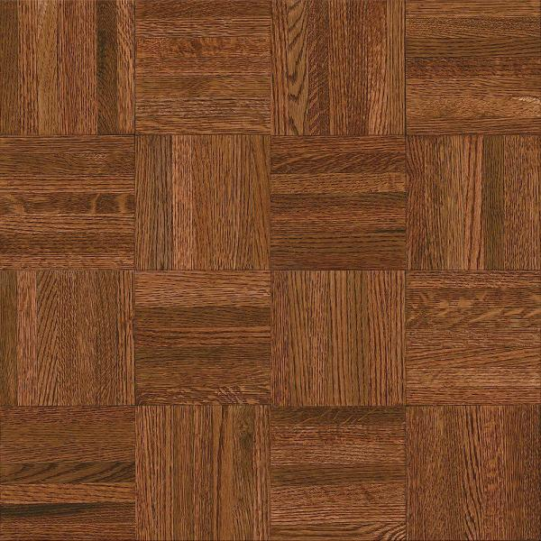 Bruce Natural Oak Parquet Cherry 5 16 in  Thick x 12 in  Wide x 12     Bruce Natural Oak Parquet Cherry 5 16 in  Thick x 12 in  Wide