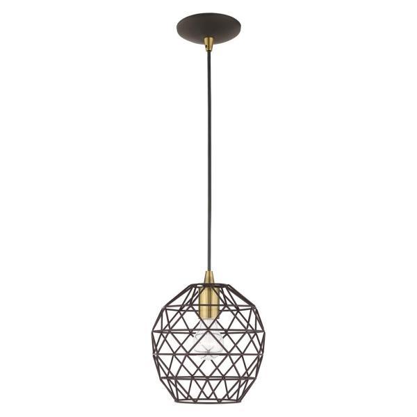 geometric mini pendant light # 36