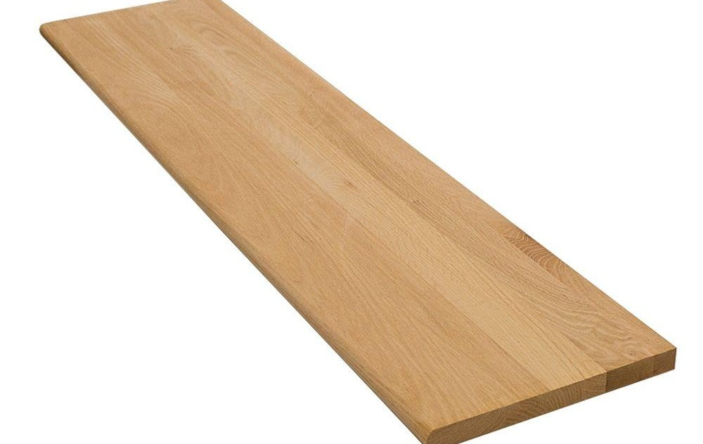 Stairtek 1 In X 11 5 In X 48 In Unfinished Red Oak Tread | Oak Stair Treads At Home Depot