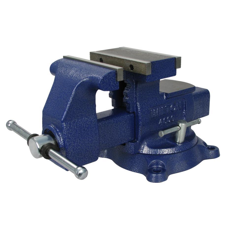 Wilton Reversible Mechanics Vise 6 1 2 In Jaw With Swivel